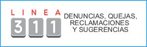 El Sistema 311 de registro de Denuncias, Quejas Reclamaciones y Sugerencias