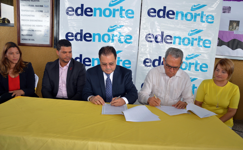 EDENORTE firma con el IATESA convenio cooperación educativa