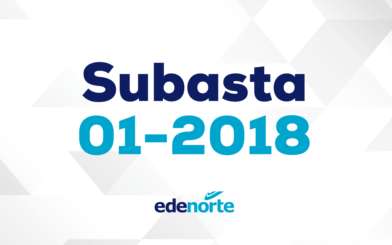 Subasta 01-2018