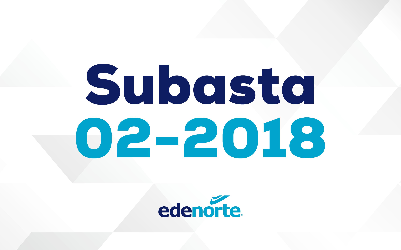 Subasta 02-2018