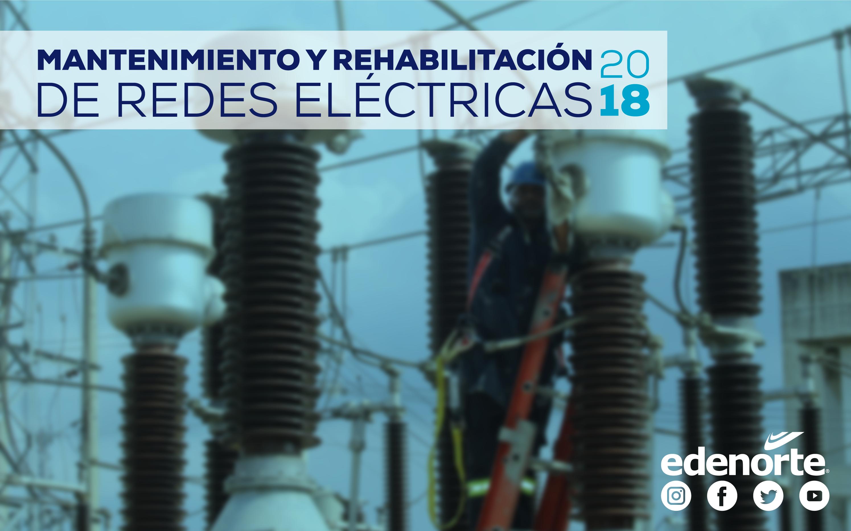MANTENIMIENTO Y REHABILITACIÓN DE REDES DEL 16 AL 22 DE JUNIO, 2018