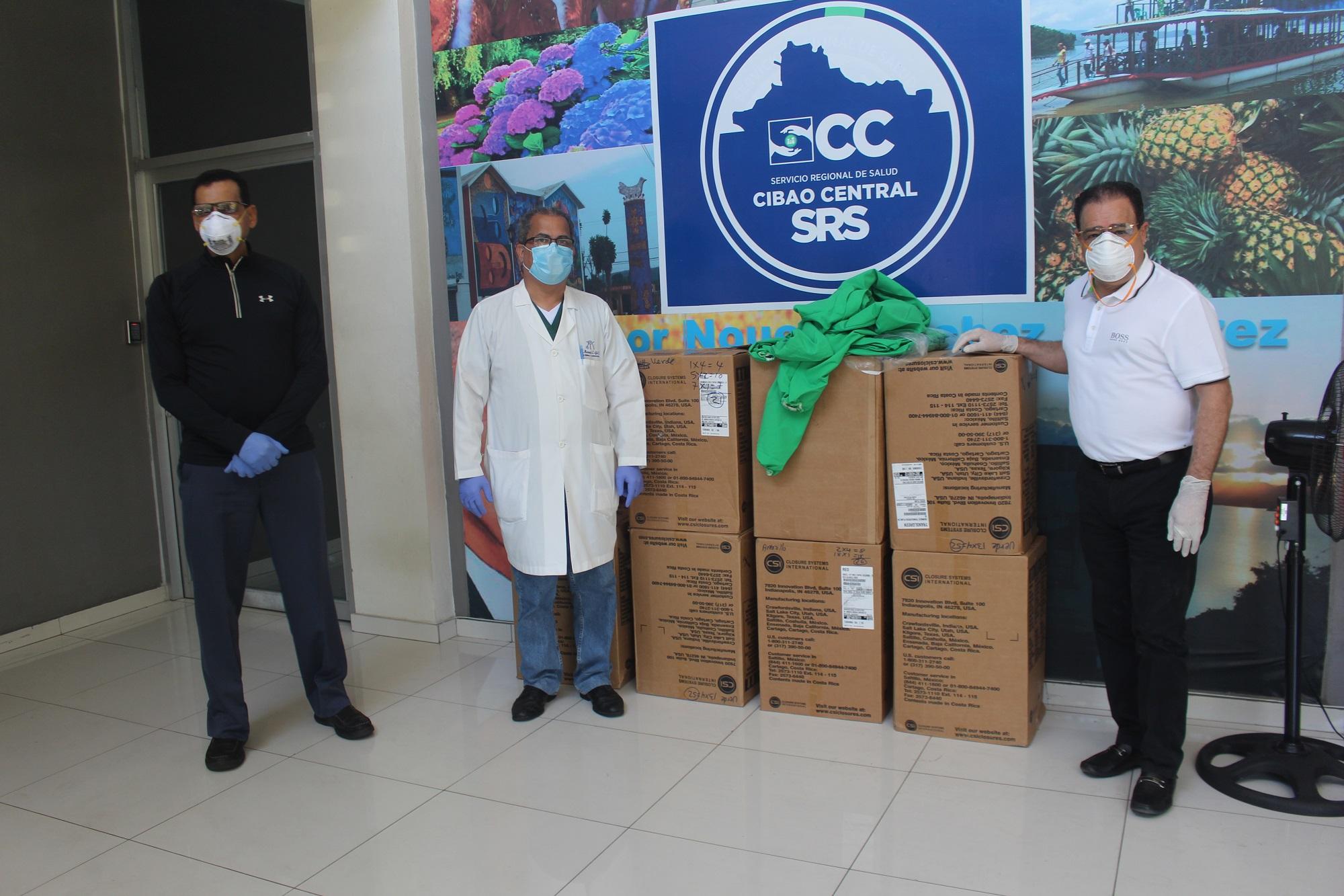 EDENORTE dona vestimentas especiales de trabajo a médicos y enfermeras hospital Morillo King