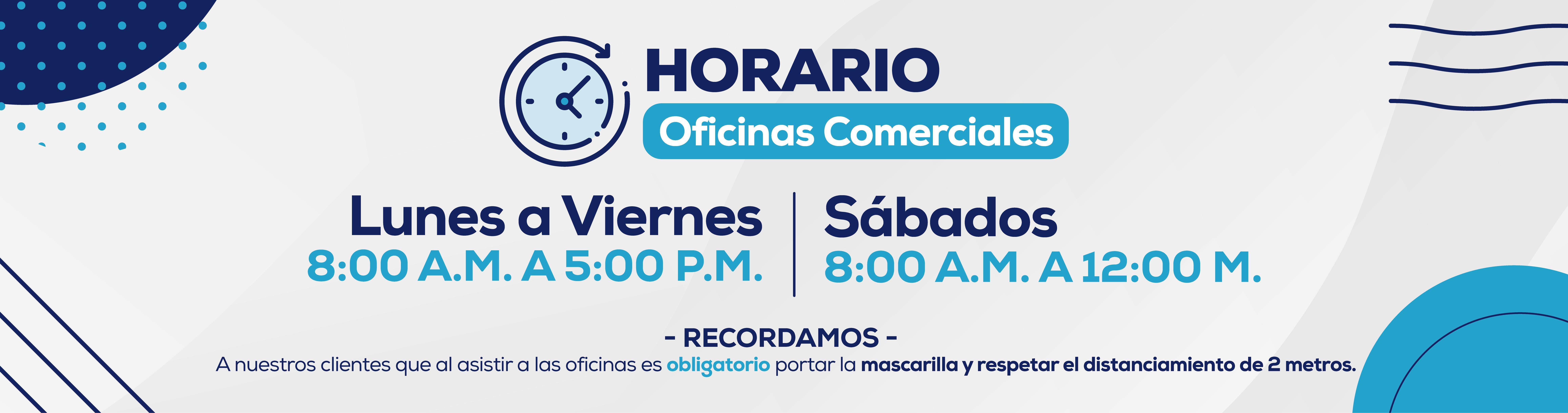 Nuevo Horario, Junio, OficinasComerciales_Slide Web