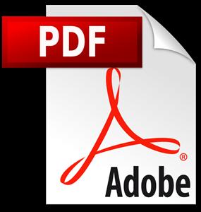 PDF Logo (Adobe ®)
