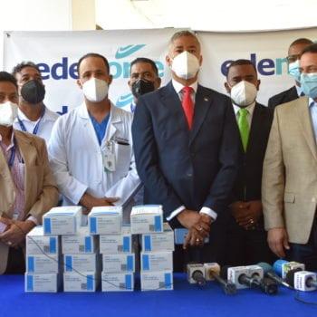 EDENORTE dona pruebas PCR a Ministerio de Salud Pública