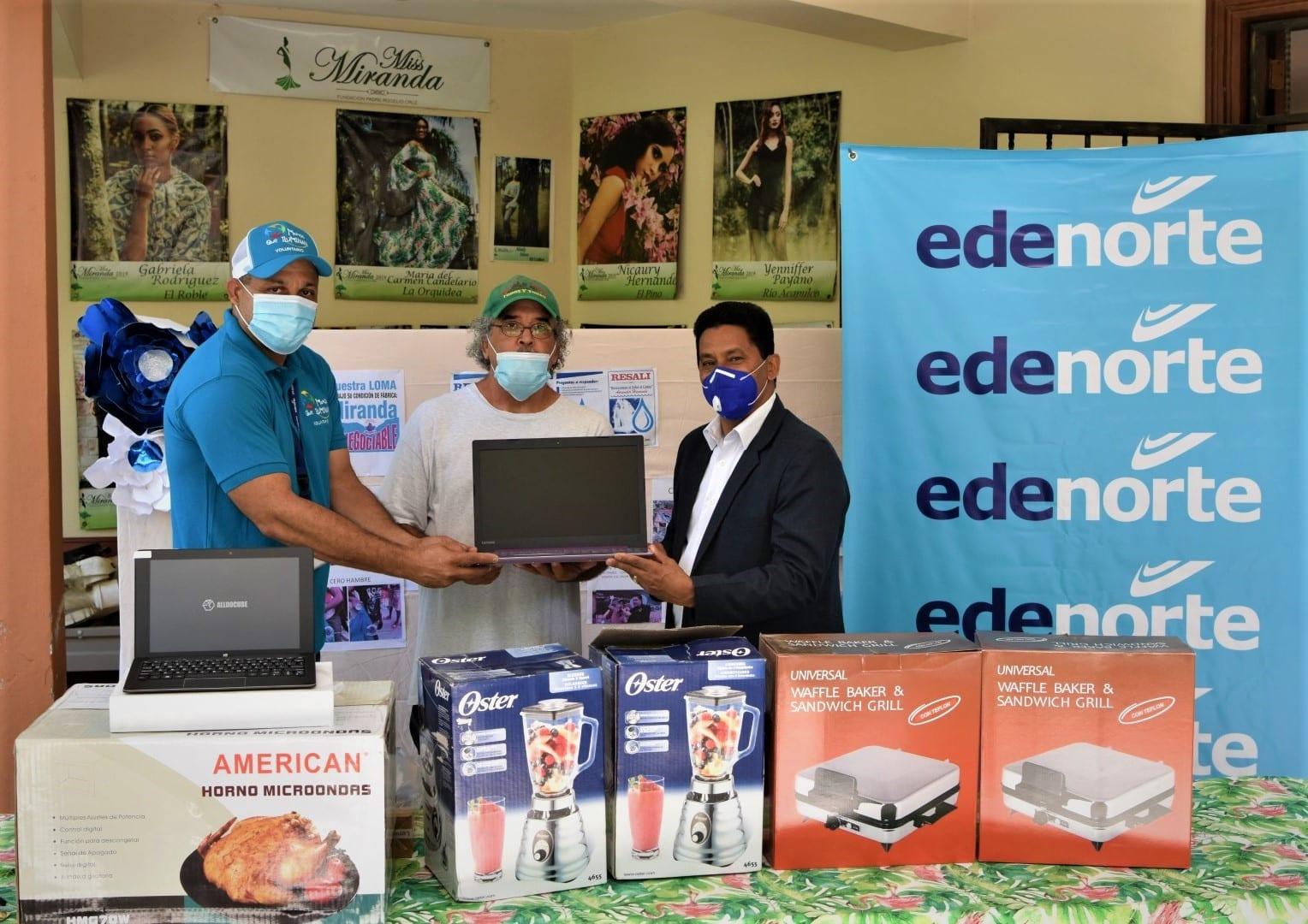 EDENORTE hace donativo a la Fundación Padre Rogelio