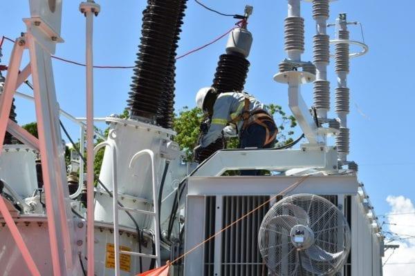 ETED informa mantenimiento a líneas de transmisión en Bonao, Moca y Cruce de Abanico