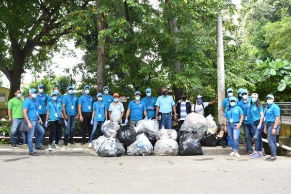EDENORTE realizó trabajos de limpieza en Arroyo Gurabo