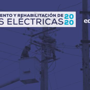 Programa de mantenimiento de redes, del 9 al 15 de enero 2021