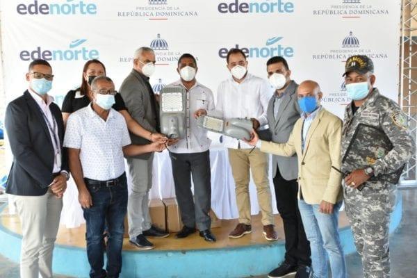 EDENORTE da continuidad a rehabilitación redes y plan de iluminación en comunidad La Cuesta