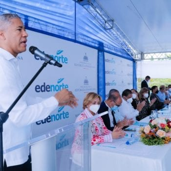 Edenorte inaugura rehabilitación redes en lugares de Puñal