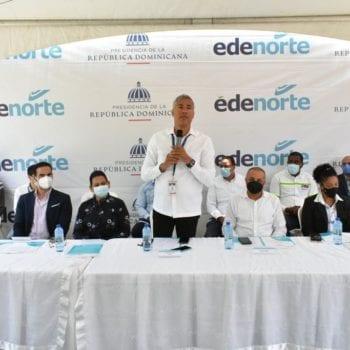 Edenorte comienza electrificación comunidades provincia Espaillat
