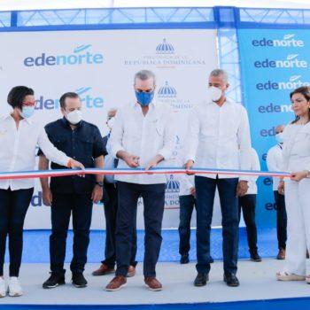 Edenorte inaugura subestación en presencia del presidente Abinader