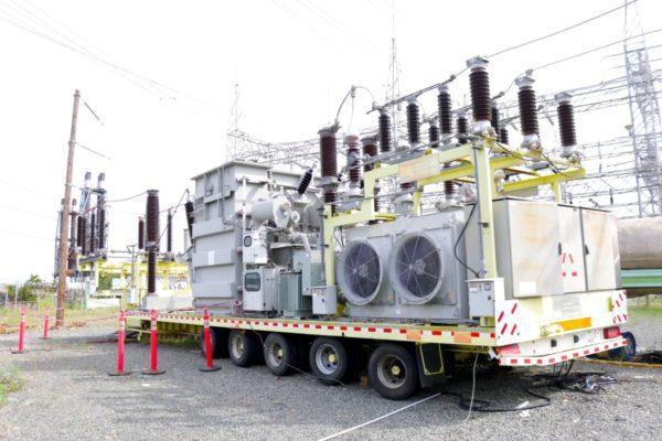 ETED traslada transformador desde Palamara hacia Nagua para mejorar suministro eléctrico