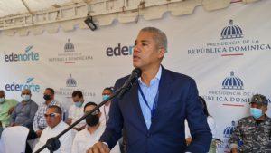Edenorte inaugura proyecto beneficiará parceleros La Canela, Santiago